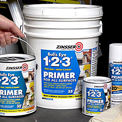 Zinsser - Primers-Sealers, Interior Finishes, Decorative Finishes